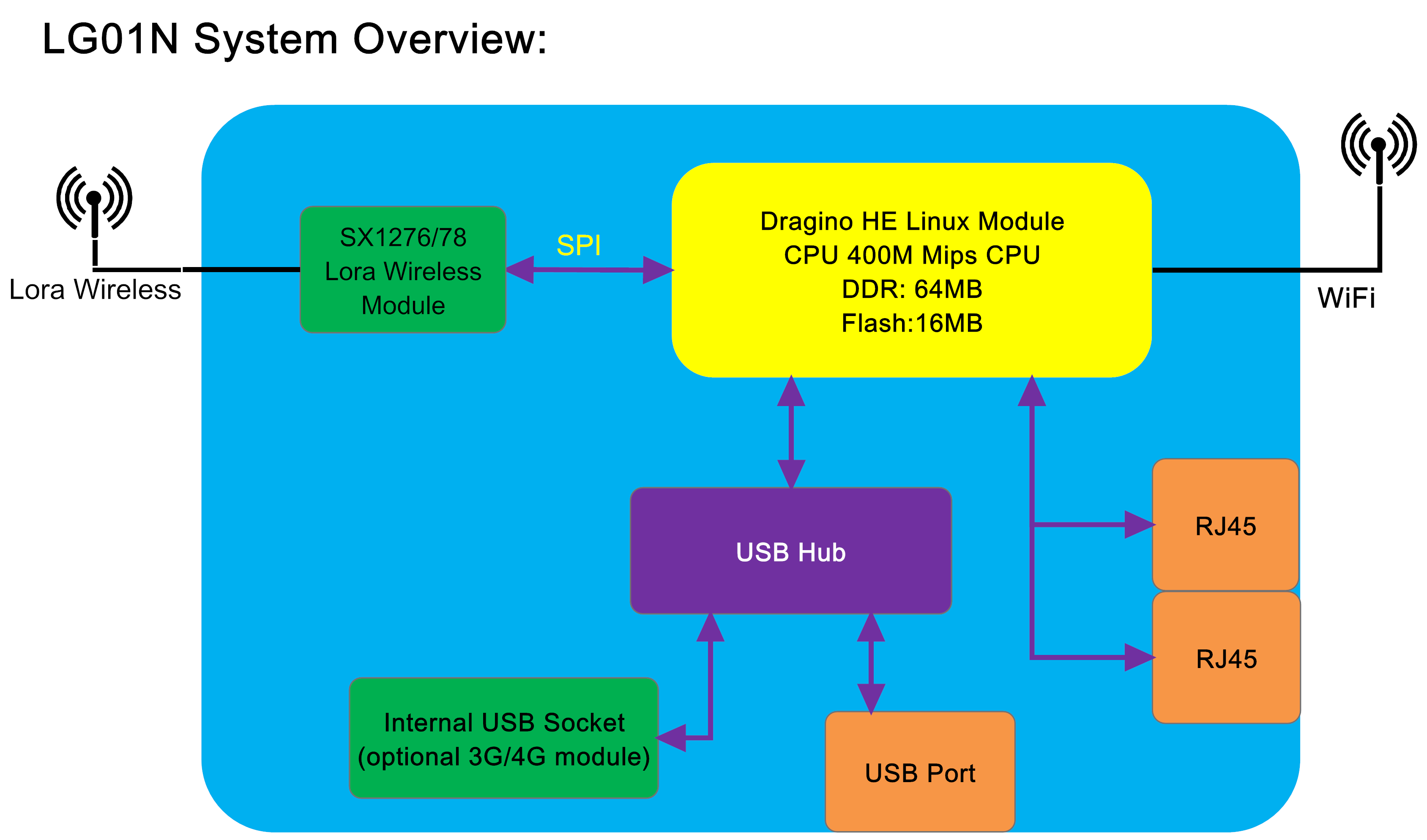 LG01 System Overview